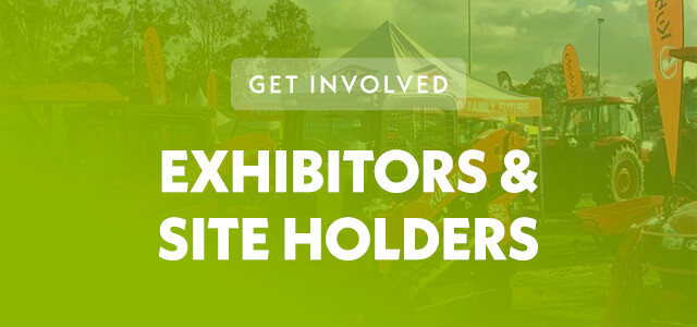 Exhibitors and site holders